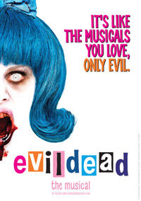 Evil Dead the Musical poster