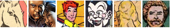 Six Creepiest Comic Book Characters